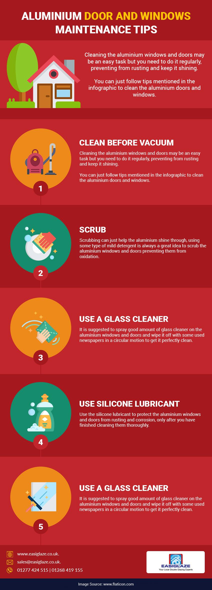 aluminium doors and windows maintenance tips